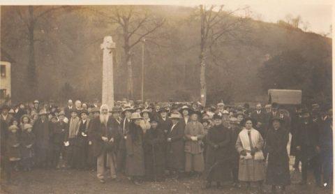Winsford War Memorial 1921